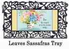 Bee The Reason Sassafras Mat - 10 x 22 Insert Doormat