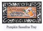 Sassafras Beer in the Fridge Mat - 10 x 22 Insert Doormat