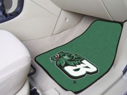Binghamton University 2pc Carpet Car Mat Set - Nylon & Vinyl