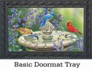 Indoor & Outdoor Birdbath Gathering MatMates Doormat-18x30