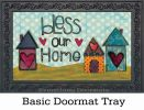 Indoor & Outdoor Bless Our Home Insert Doormat-18x30
