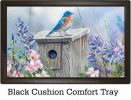 Indoor & Outdoor Bluebird Lookout MatMate Doormat-18x30