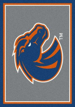 Boise State Spirit Area Rug - College Logo Mat