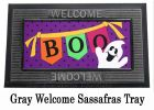Sassafras Boo Ghosts Switch Insert  Doormat - 10 x 22