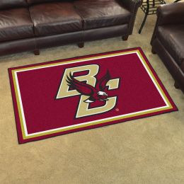 Boston University Area Rug - 4 x 6 Nylon