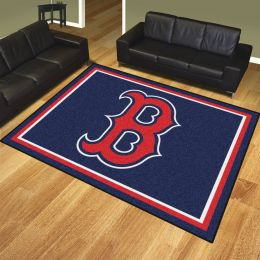 Boston Red Sox Area Rug – 8 x 10 Nylon
