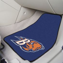Bucknell Bisons 2pc Carpet Floor Mat Set - Nylon & Vinyl