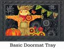 Indoor & Outdoor Burlap Scarecrow MatMates Doormat