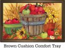 Indoor & Outdoor Bushel of Apples MatMates Doormat - 18 x 30