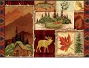 Indoor & Outdoor Cabin Fever MatMates Doormat - 18 x 30