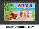 Indoor & Outdoor California Dreamin' MatMates Doormat