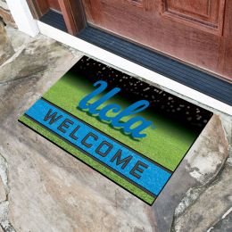 California, Los Angeles University Flocked Rubber Doormat - 18 x 30