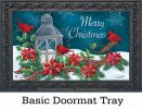 Indoor & Outdoor Cardinal Christmas MatMate Doormat-18x30