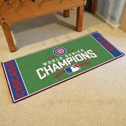 Chicago Cubs 2016 Field Championship Runner Mat