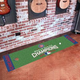 "Chicago Cubs 2016 Field Championship Putting Mat - 18"" x 72"""