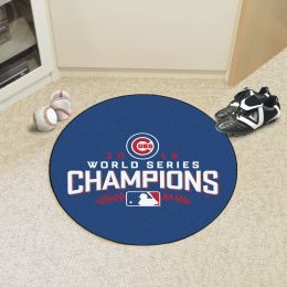 Chicago Cubs 2016 World Series Champs Round Area Rug