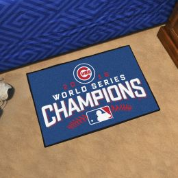 Chicago Cubs 2016 World Series Champs Starter Doormat