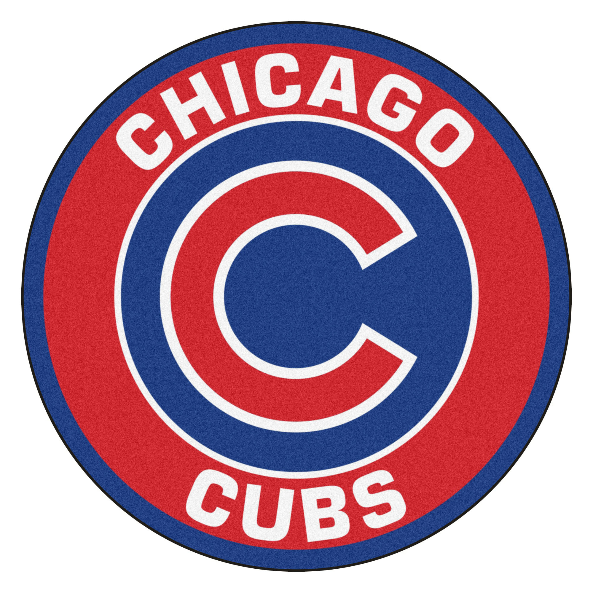 Chicago Cubs Logo Roundel Mat 27 Quot Round Area Rug
