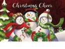 Indoor & Outdoor Christmas Cheer Insert Doormat - 18x30