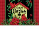Indoor & Outdoor Christmas Birdhouse Insert Doormat-18x30