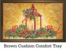 "Indoor & Outdoor Christmas Lantern Insert Doormat - 18"" x 30"""