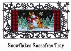Sassafras Christmas Pals Switch Doormat - 10 x 22