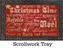 Indoor & Outdoor Christmas Typography MatMates Doormat