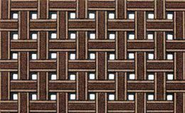 CleanScrape Deluxe Outdoor Entry Mat - Brown Weave