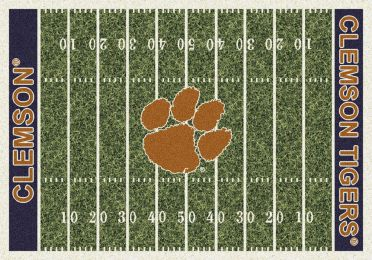 Clemson Tigers Football Home Field Area Rug