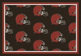 Cleveland Browns Reapeting Logo Area Rug