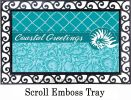 Indoor & Outdoor Coastal Greetings Insert Doormat-18x30