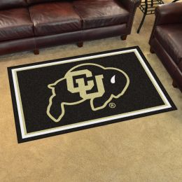 Colorado University Area Rug - 4 x 6 Nylon