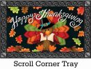 Indoor & Outdoor Colorful Turkey Insert Doormat - 18x30