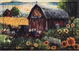 Trellis Embossed Country Paradise Dimensions Doormat - 19 x 30