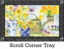 Indoor & Outdoor Daffodils in Vases MatMate Doormat-18x30