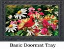 Indoor & Outdoor Daisy Salute Insert Doormat-18x30