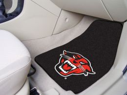 Davenport University 2pc Carpet Car Mat Set - Nylon & Vinyl