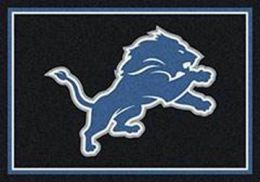 Detroit LionSpirit Area Rug - NFL Football Mat