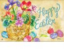 Indoor & Outdoor Easter Beauty MatMate Doormat-18x30