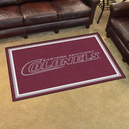 Eastern Kentucky University Area Rug - 4 x 6 Nylon