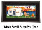 Sassafras Fall Happy Camper Mat - 10 x 22 Doormat