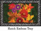 Indoor & Outdoor Fall Riches Mix Insert Doormat-18x30