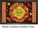 Indoor & Outdoor Fall Wreath Insert Doormat - 18x30