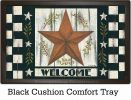 Indoor & Outdoor Rustic Star Insert Doormat - 18 x 30