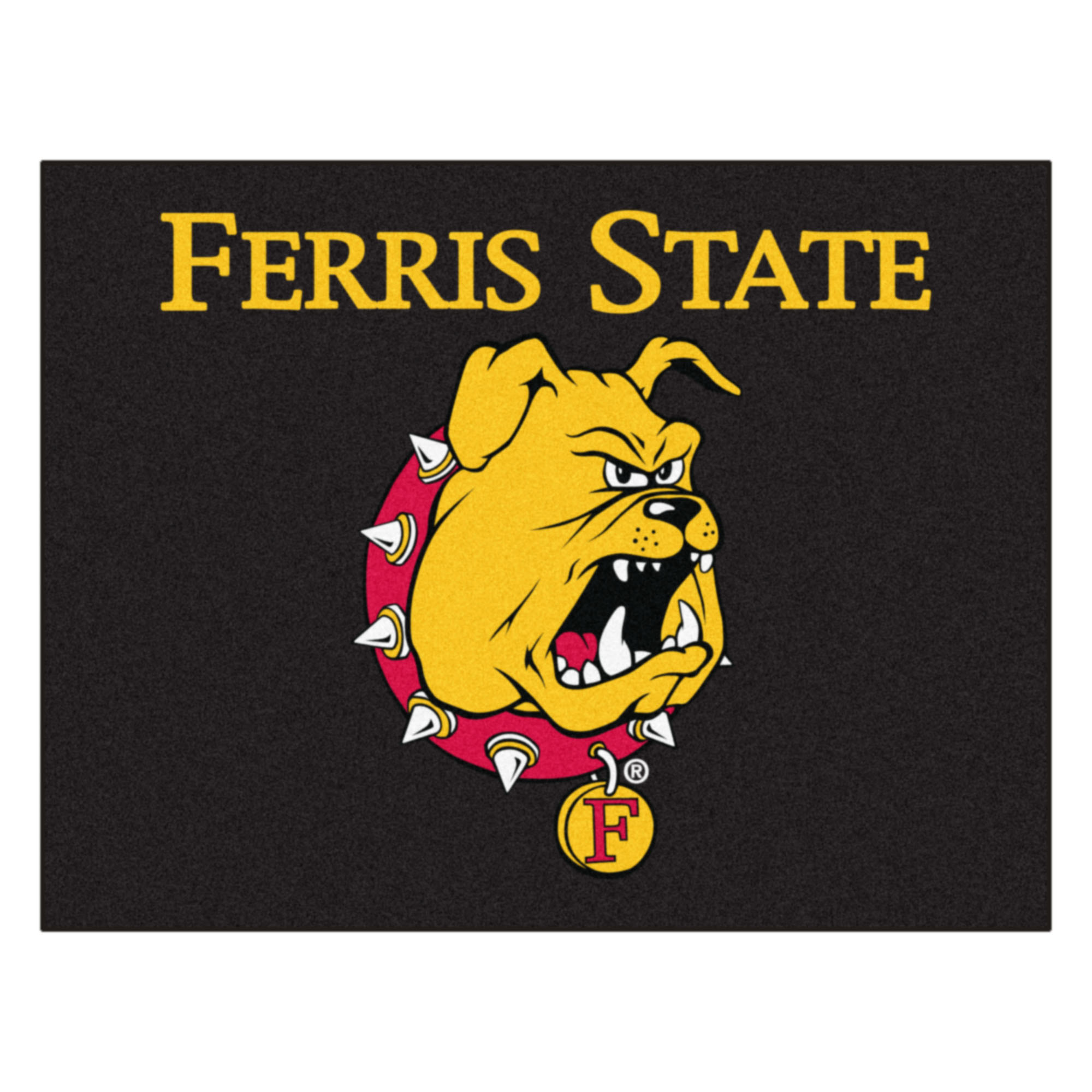 "Ferris State Bulldogs All Star Area Mat - 34"" x 44.5"""