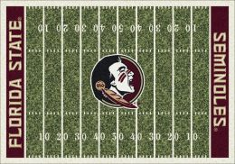 FSU Seminoles Home Field Nylon Area Rug