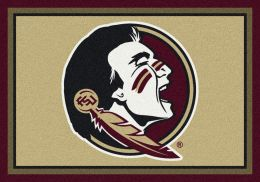 Florida State University Nylon Spirit Area Rug