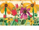Indoor & Outdoor Flower Garden MatMate Doormat-18x30