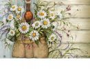 Fresh Picked Daisies Indoor & Outdoor Matmate Insert Doormat - 18 x 30