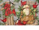 Indoor & Outdoor Front Porch Christmas MatMate Doormat